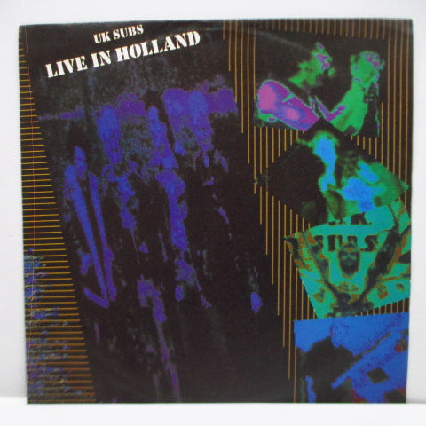 "U.K. SUBS - Live In Holland (UK Ltd.Red Vinyl 7"")"