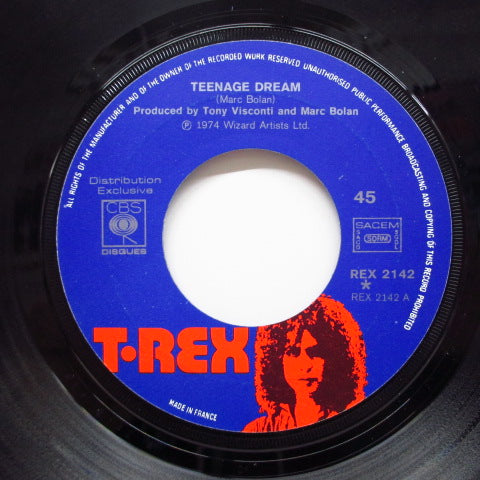 "T.REX - Teenage Dream (FRANCE Orig.7""+PS)"