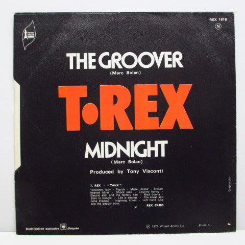 "T.REX - The Groover (FRANCE Orig.7""+PS)"