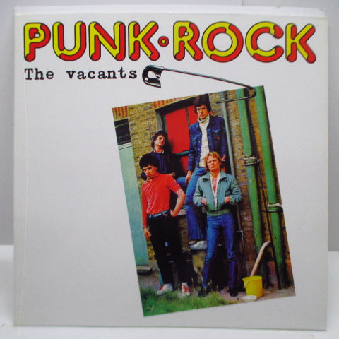 VACANTS, THE - Punk Rock (EU Unofficial LP)