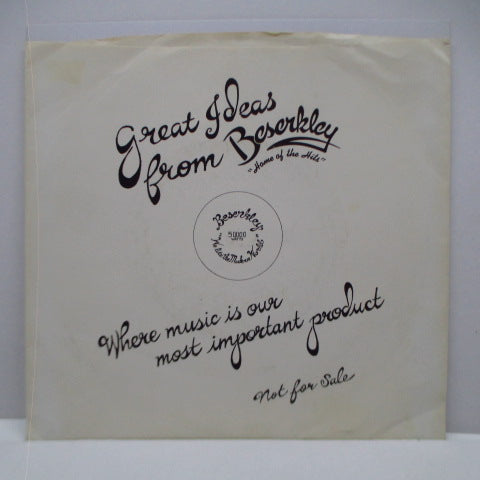 "V.A. - Great Ideas From Beserkley (US Promo 7"")"