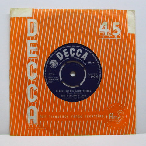 "ROLLING STONES - (I Can't Get No) Satisfaction (UK Export 7"")"