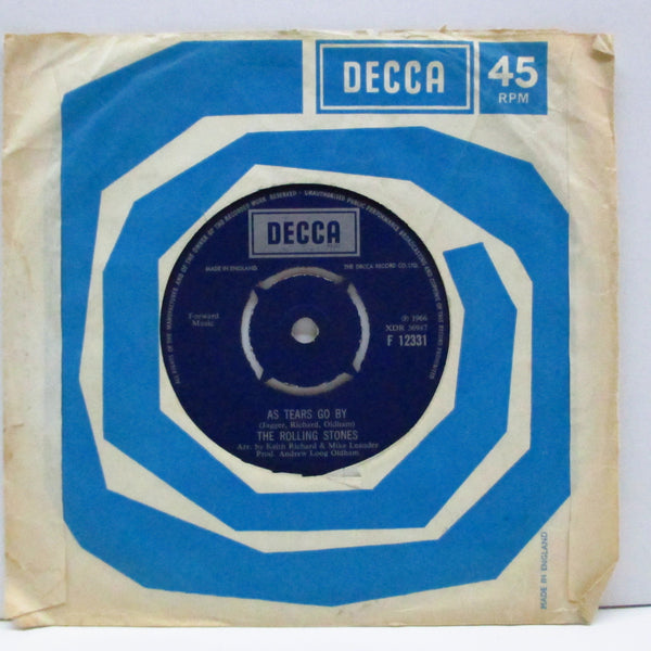 "ROLLING STONES (ローリング・ストーンズ)  - 19th Nervous Breakdown (UK 60's Re 7""+CS)"