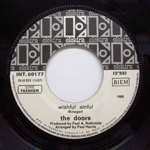 "DOORS - Wishful Sinful (France Miss Press 7""+PS)"