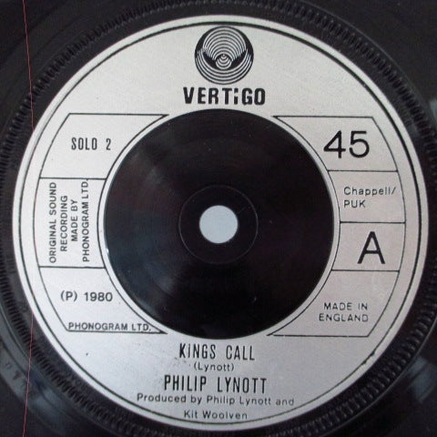 PHILIP LYNOTT - King's Call (UK Orig+PS)