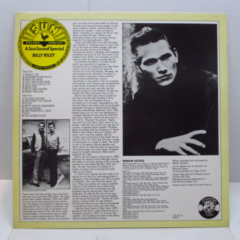 BILLY RILEY  - Sun Sound Special (UK Orig.LP)