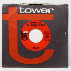 "THEM - Walking In The Queens Garden (US '67 Tower Re 7""+CS)"
