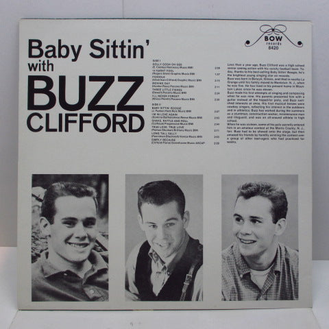 BUZZ CLIFFORD - Baby Sittin' With Buzz Clifford (Euro LP)