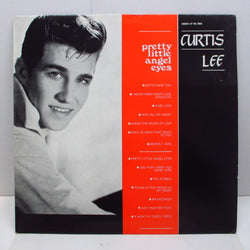 CURTIS LEE - Pretty Little Angel Eyes (Euro LP)
