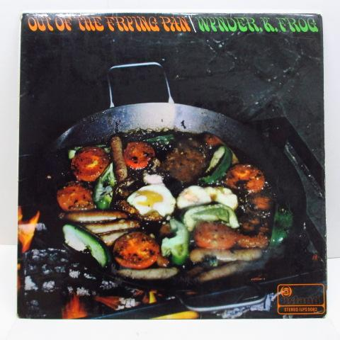 WYNDER K.FROG - Out Of The Frying Pan (UK Orig.Stereo LP/CS)