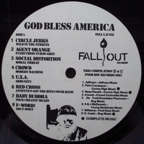V.A. - God Bless America : Posh Hits Vol.1(UK Orig.LP)