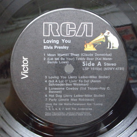 ELVIS PRESLEY - Loving You (US '76 Reissue Stereo)