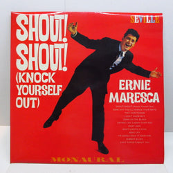ERNIE MARESCA - Shout Shout (UK '82 Reissue Mono LP/CS)