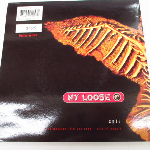 "HOLE / NY LOOSE - Gold Dust Woman / Spit (UK Orig.2x7""/Numbered GS)"