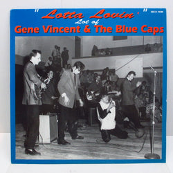 GENE VINCENT - Lotta Lovin'-Lot Of (German Orig.LP)