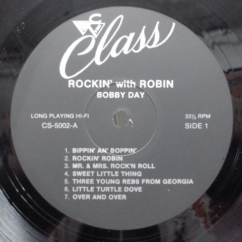BOBBY DAY - Rockin' Robin (US:LTD Repro)