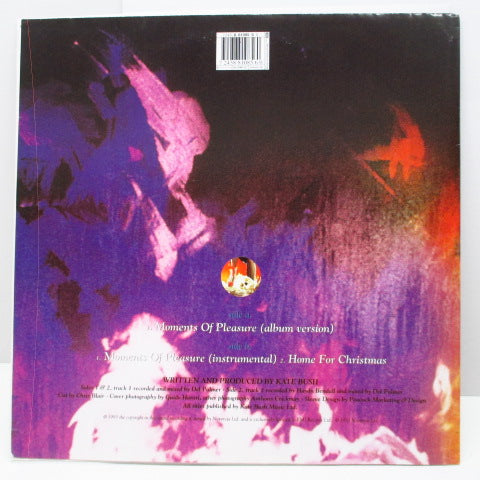 "KATE BUSH (ケイト・ブッシュ)  - Moments Of Pleasure +2 (UK Ltd.12""+Poster CVR)"