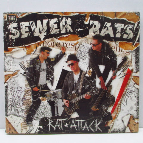 SEWER RATS, THE - Rat Attack (German Orig.CD)