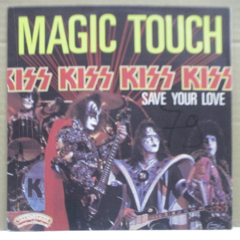 "KISS - Magic Touch (France Orig.7""+PS)"