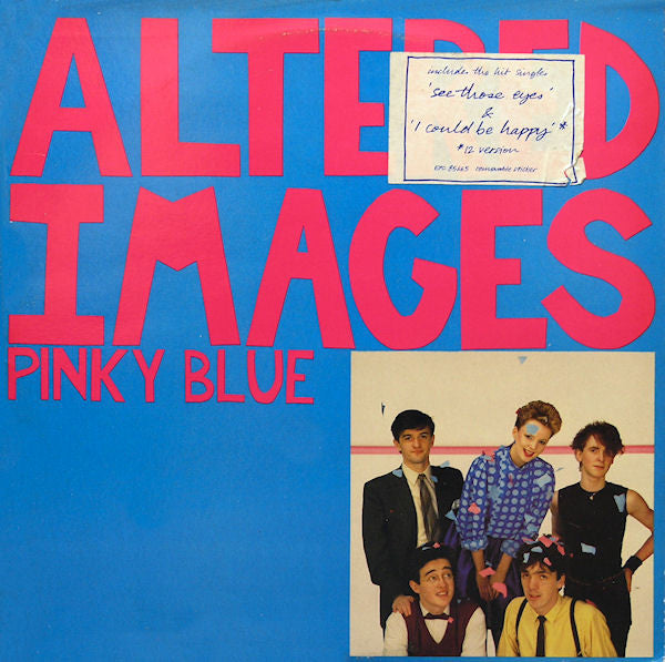 ALTERED IMAGES - Pinky Blue (UK Orig.LP/Stickered CVR)