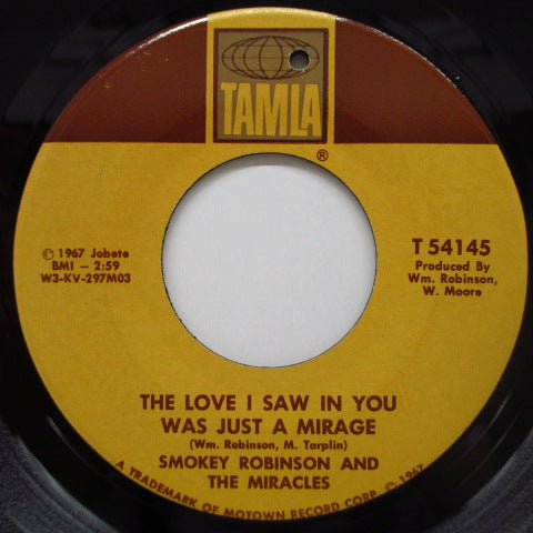MIRACLES (SMOKEY ROBINSON & THE) - Come Spy With Me (Orig.Brown Bar Label)