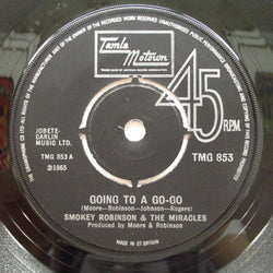 MIRACLES (SMOKEY ROBINSON & THE) - Going To A Go-Go +2 ('73 UK Re)