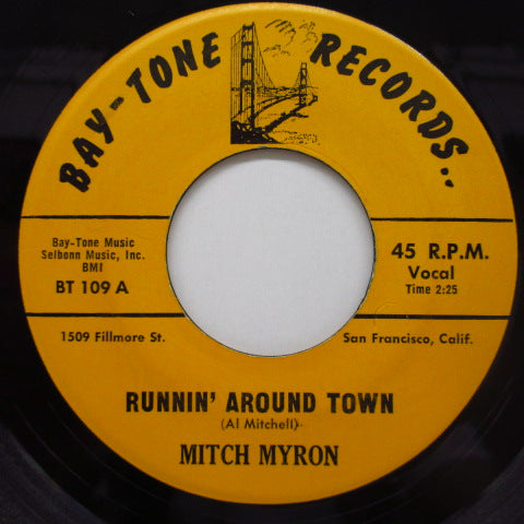 MITCH MYRON - Runnin' Around Town (Orig)