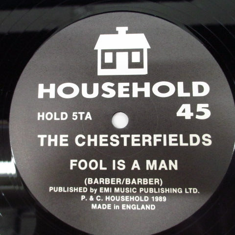 "CHESTERFIELDS, THE - Fool Is A Man +3 (UK Orig.12"")"