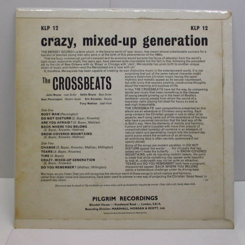 CROSSBEATS (クロスビーツ)  - Crazy, Mixed-Up Generation (UK Orig.LP/CFS)