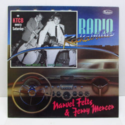 NARVEL FELTS & JERRY MERCER - Radio Rockabillies (UK Orig.LP)
