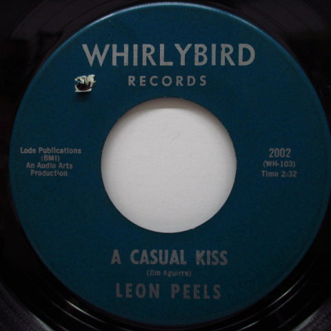 LEON PEELS - Cottonhead Joe / A Casual Kiss