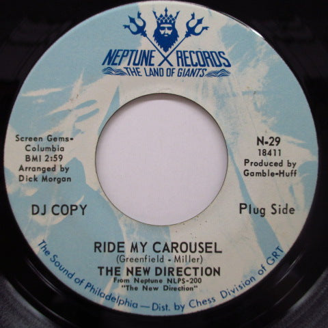 NEW DIRECTION - Ride My Carousel / Didn't We