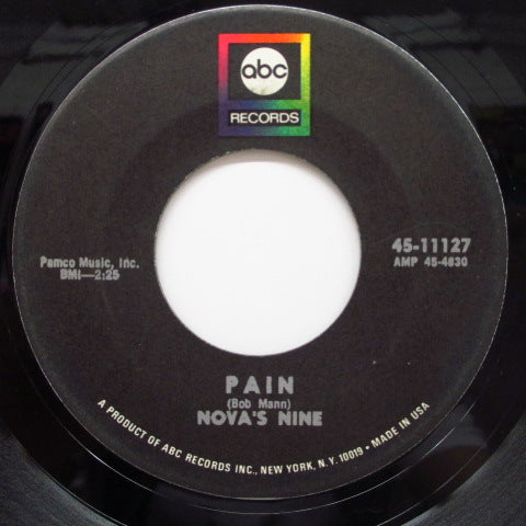 NOVA'S NINE - Pain / Why Listen (Orig)