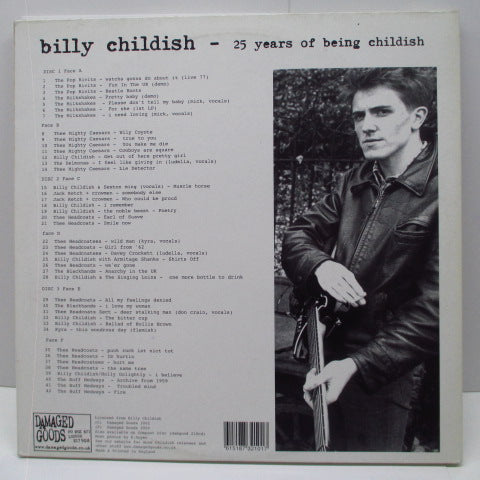 BILLY CHILDISH  - 25 Years Of Being Childish (UK Orig.3xLP)