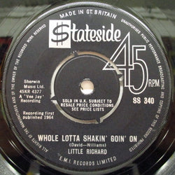 LITTLE RICHARD - Whole Lotta Shakin' Goin' On (UK)