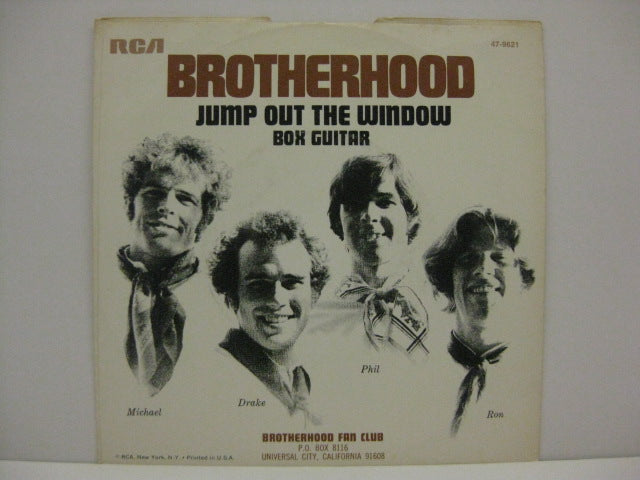 BROTHERHOOD - Jump Out The Window / Box Guitar