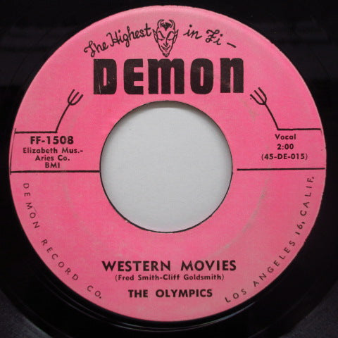 OLYMPICS - Western Movies / Well! (Orig.Light Pink Label)