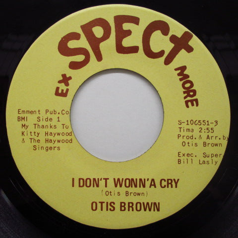 OTIS BROWN - The Willie Bop (Orig)