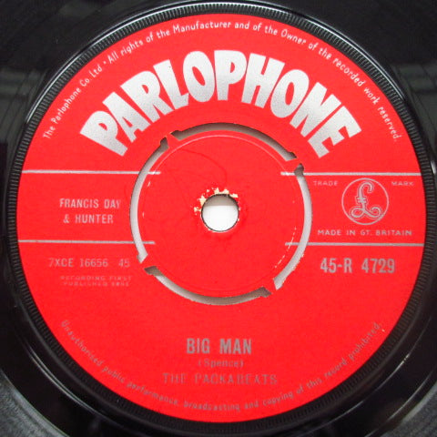 "PACKABEATS - Gypsy Beat / Big Man (UK Orig.7"")"