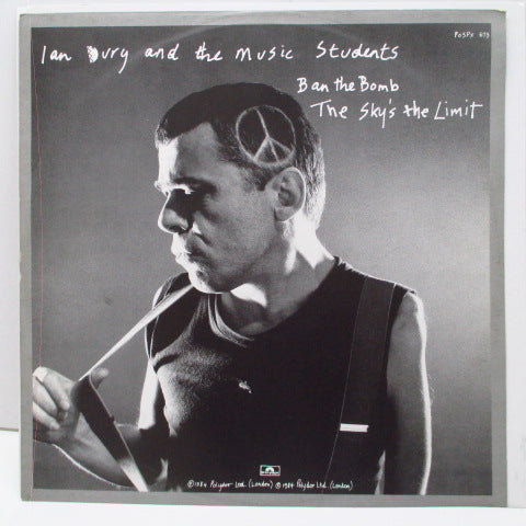 "IAN DURY And The Music Students  - Very Personal +2 (UK Orig.12"")"