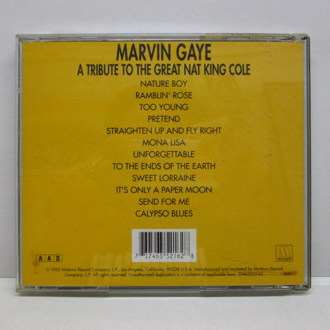 MARVIN GAYE-A Tribute To The Great Nat King Cole (US CD)