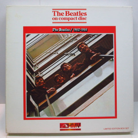 BEATLES - 1962-1966 (UK HMV Ltd.2xCD Box Set)