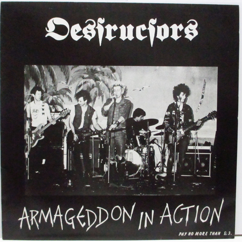 DESTRUCTORS - Armageddon In Action (UK Orig.LP)
