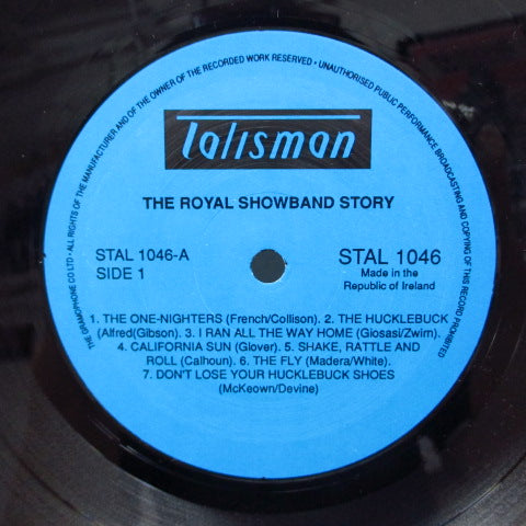 ROYAL SHOWBAND - The Royal Showband Story (Ireland LP/Blue Label)