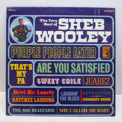 SHEB WOOLEY - The Very Best Of Sheb Wooley (US Orig.Stereo LP)