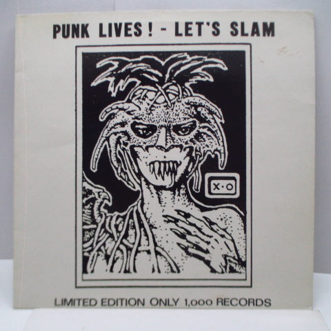 V.A. - Punk Lives - Let's Slam (UK Orig.LP)