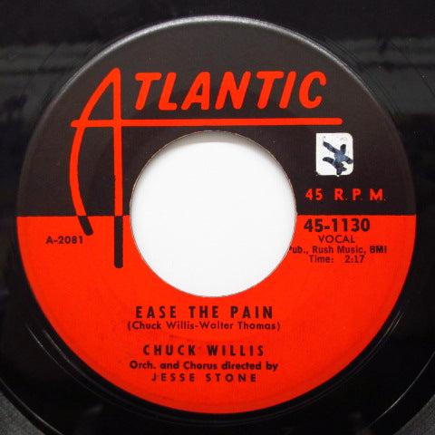 CHUCK WILLIS - C. C. Rider / Ease The Pain