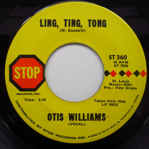 OTIS WILLIAMS - Ling, Ting, Tong