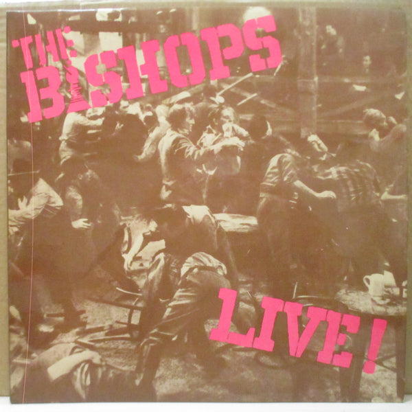 "BISHOPS (ビショップス)  - Live! (UK 2nd Press 12"" LP+CS)"