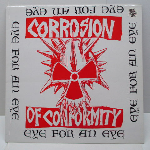 C.O.C. - Eye For An Eye (UK Ltd.Red LP)